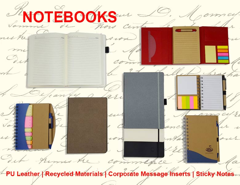 PU Notebooks from Corporate Gifts Notebooks-ODpremiumODpremium