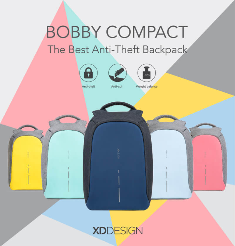 Bobby Backpack - Best Ainti-Theft Backpack by ODpremium